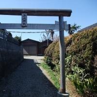 神社二ヶ所を巡る