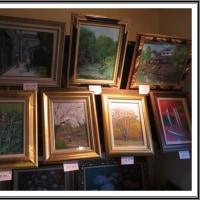 油絵のアート展