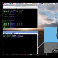 Pi3 Python Minecraftで迷路を作成