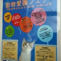 9月22日(祝)2016さかい動物愛護フェア開催いたします