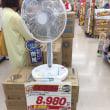 扇風機を買いに来た、うーんこれぐらいはするか…