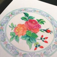 花曼荼羅塗り絵とあんフラワー&あんクラフトコラボ!ワークショップ