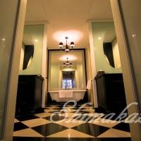 バスルームの広さにビックリ!@イースタン アンド オリエンタル ホテル Eastern And Oriental Hotel