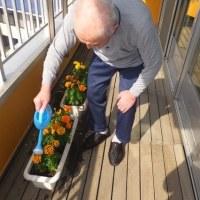 5月23日 「花のみずやり」