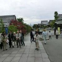長野県まで新茶を届けに 善光寺