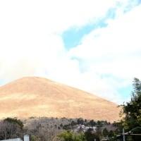 2月19日 大室山山焼き