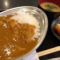カレーライスを頂きました。 at 串特急 神谷町店