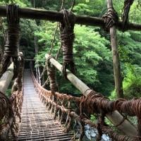 徳島・祖谷のかずら橋