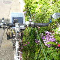 ランドローバー(自転車)のハンドルグリップ交換。