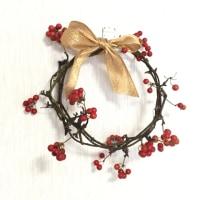 今日のお稽古 人気の小紋とクリスマス花