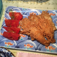 微妙なウマヅラハゲの煮付けと香蘭社の箸置き