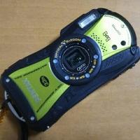加水分解でベトベトになってしまったカメラWG-1をサラサラに
