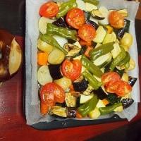いろいろ野菜のオーブン焼き