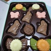猫ちゃんパッケージのチョコレート