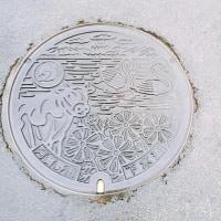 新潟県阿賀野市のマンホール