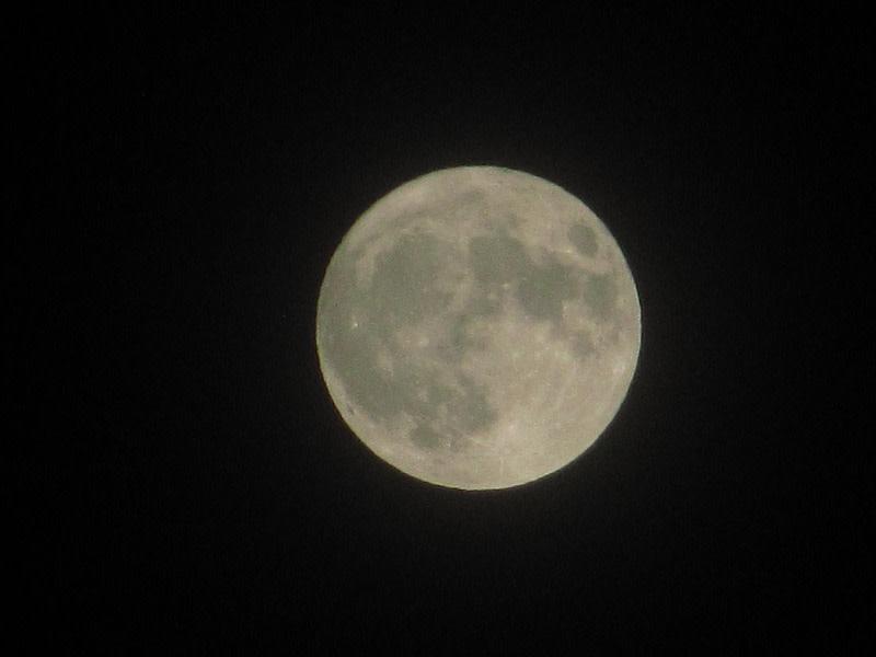 スーパームーン…満月の夜に♪@札幌