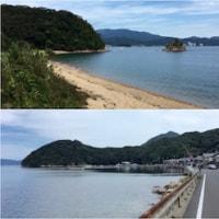 【ウォーキング】天橋立ツーデーウォーク 1日目。盛林寺、栗田半島一周。