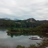 7月29日恵那峡国際ホテルに泊まって周辺の地図をみたら満蒙開拓団慰霊碑を発見
