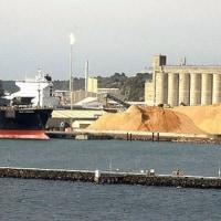 米西岸/穀物港、滞船1カ月。寒波で物流混乱