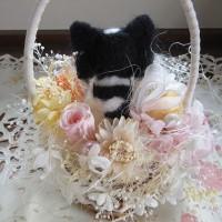 羊毛ルークとお花たち