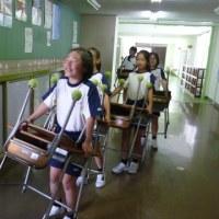 2年生の教室移動
