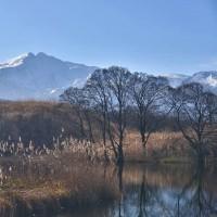 初冬の鳥海山でしたが