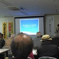 吉川弁護士を講師に共謀罪学習会。夜は共謀罪反対などで地域訪問、署名