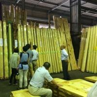 富士市にて木造二世帯住宅がスタート!展示会で建材を見てきました♪