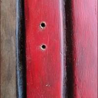 ドアを彫る★アナベルのリースについて