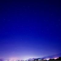 10/Dec 沈むオリオン座と富士山とコゲラとルリビタキと相思鳥