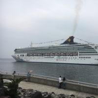 大型客船。
