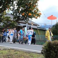 富士山 我が街 深良用水祭り: 仮想行列追い...