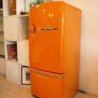 オレンジの冷蔵庫との生活