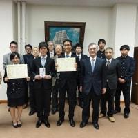 海洋工学部後援会クラブ表彰式&卒業式
