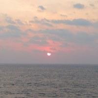 洋上の日の出