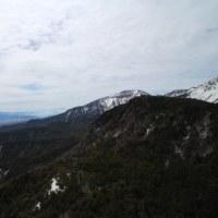 白駒池から雪道を歩く