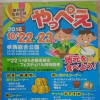 「筑西広域イベントやっぺえ」開催!