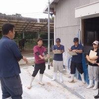 広島系統牛保存センターを視察しました