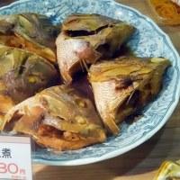 魚屋らしいお魚のお惣菜・・・サンピアザ店惣菜コーナーから
