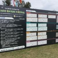 第10回金武町長杯地球環境スポーツビーチサッカーフェスティバル