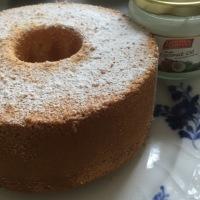 ココナッツオイルシフォンケーキ