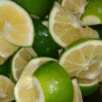 国産レモンとライムの酵素ドリンク仕込みました♪(^^)