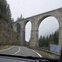 2016秋の欧州ドライブ  コンクリートの高架橋