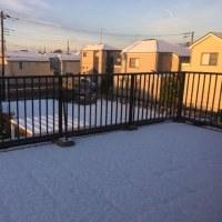 54年ぶりの積雪