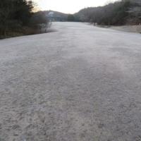 今朝も、霜   県立三木山森林公園