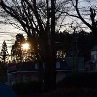 2月21日、午前7時過ぎの空模様