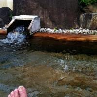 山梨 湯村温泉に来ています