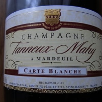 CHAMPAGNE Tanneux-Mahy CARTE BLANCHE BRUT