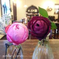 冬の薔薇と美味しい時間♪