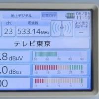 千葉県:八千代市上高野にて、既存VUアンテナ撤去後、地デジ新設工事